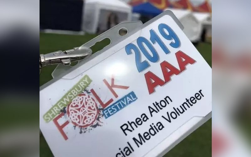 SBN members join social media team at Shrewsbury Folk Festival
