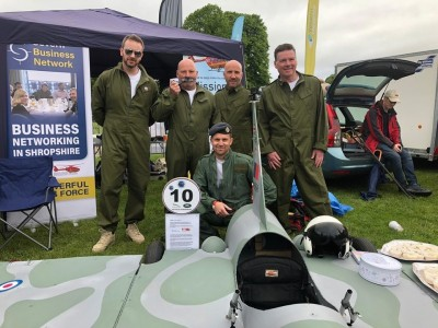 Cold War Pilot Steals the Show at the Wacky Races in Shrewsbury