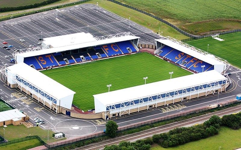 Montgomery Waters Meadow - Shrewsbury Town Stadium