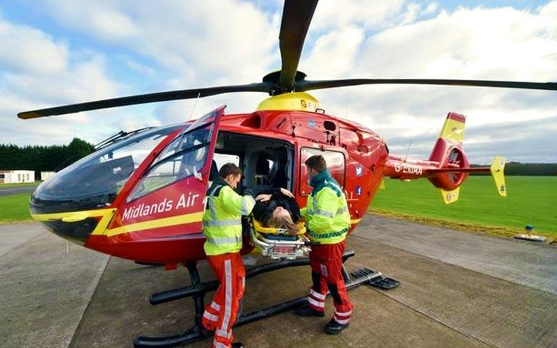 Midlands Air Ambulance Crew