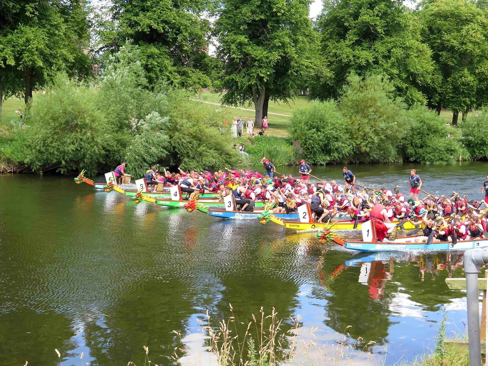 Severn Business Network go Dragon Boat Racing!
